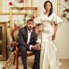 Breath-Taking Photos Of Billionaire Bride Hauwa Indimi And And Groom Mohammed Yar'Adua