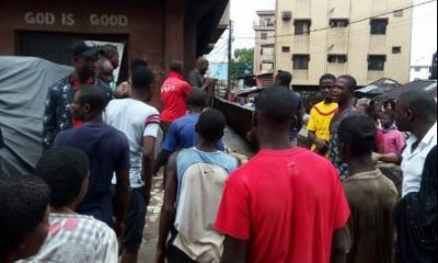 GRAPHIC PHOTO: Business Man Murdered In Onitsha By Thugs