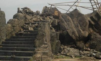 Another Bridge Built By Okorocha Collapses In Owerri