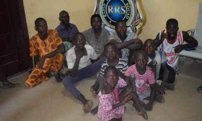 Child Abuse: RRS Nabs Seven Barons For Importing 8 Physically Challenged Kids To Lagos For Begging