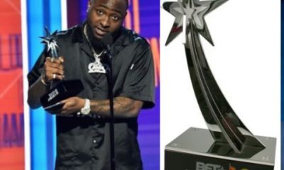 Davido Wins Best International Act At The 2018 BET Awards