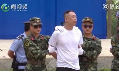 Drug Dealers Sentenced To Death, Executed Instantly Before Children In China