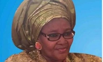 Wife Of Former Governor Of Adamawa State Murtala Nyako, Is Dead