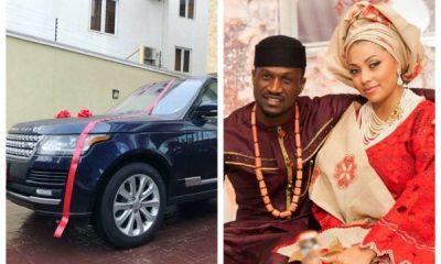 Peter Psquare Buys Brand New Range Rover For Wife As Surprise Gift