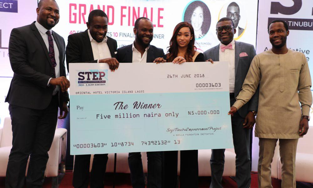 STAFFBUS NIGERIA CLINCHES SEYI TINUBU'S STEP GRAND PRIZE