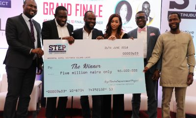 STAFFBUS NIGERIA CLINCHES SEYI TINUBU'S STEP GRAND PRIZE