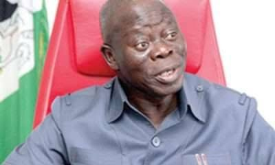 If I Were President, I Would Arrest Obasanjo – Oshiomhole