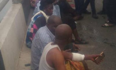 JUST IN: 24 Passengers Saved From Falling Into Lagos Lagoon