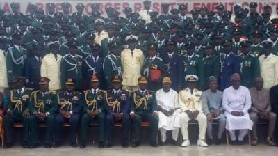 320 Soldiers Retire From Service