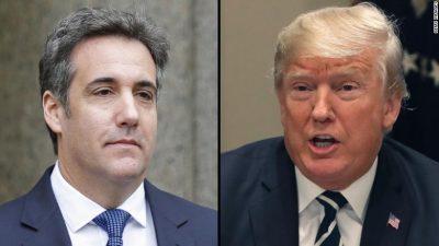 CNN obtains secret Trump-Cohen tape