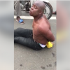 Nigerian Man Allegedly Goes Mad On A Beach In Togo, Confesses To Engaging In Rituals (Video)