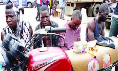 Armed Robbers Attack Lagos Bank Customer, Steal N250,000 From Him (Photo)