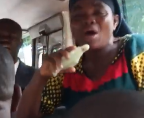 How Embarrassing! Catholics And Protestants Fight For Right To Preach In A Bus In Anambra State (Video)