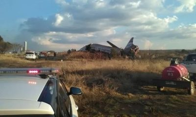 Plane Crash In South Africa Leaves 20 People Injured (Photos)