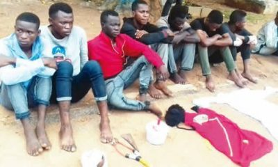 Vice President Of The Federal Polytechnic Offa Students' Union Government Arrested For Cultism