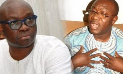 'We Reject The Falsified Results And The Declaration Of APC's Kayode Fayemi As Winner Of The Ekiti State Election' - PDP