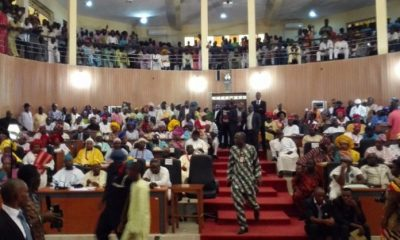 Ekiti State House Of Assembly Adjourns Sitting Till October In Protest Of Last Saturday's Election