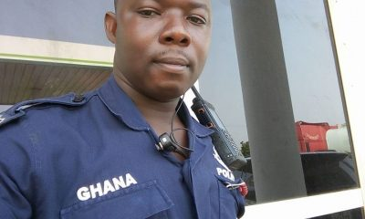 Disturbing Video Of An Armed Police Officer Brutally Assaulting A Nursing Mother In Ghana