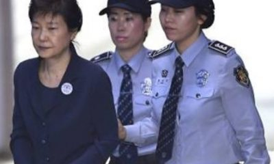 "Park Geun-hye, the South Korean former President who was jailed for 24 years for corruption, has been slammed with an additional eight-year jail term for receiving bribe from the country's National Intelligence Service (NIS). A Seoul Central District Court gave the verdict on Friday after a separate trial on the allegation that she received bribe from the NIS and unlawfully intervened in 2016 selection of a parliamentary candidate for her party. Geun-Hye was sentenced to six years for taking ?3.3billion ($2.9 million) from NIS, and two years for the electoral offence. The terms are to be served consecutively. On April 6, she was sentenced to 24 years imprisonment for abuse of power, bribery and coercion. This implies that the ex-President will now be serving 32 years in jail. ""The accused received some ?3billion over three years from the three NIS chiefs,"" the presiding judge said. ""Through this crime, the accused incurred a considerable amount of loss to the state treasury."" Three former NIS chiefs testified they had funnelled the funds to Park on her orders, the court said. The judge rebuked Park, who denied the charges, for being ""uncooperative"" throughout the court hearing and for questioning by prosecutors. Geun-hye is the first female President of South Korea. She was impeached in 2017 after huge street protests over a sprawling scandal."