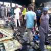 270 shops with goods worth millions of Naira destroyed as fire guts Terminus market in Jos