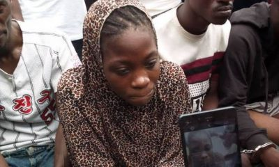 """I'm Paid N10,000 Per Kill"" 20-Year-Old Female Sniper For Eiye Confraternity"