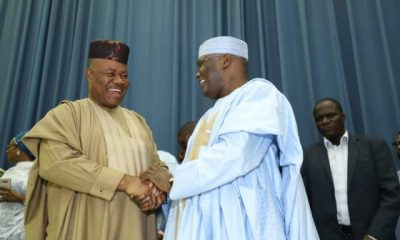 2019 Elections: PDP, R-APC, SDP, 36 Others Sign MoU Against APC [PHOTOS]