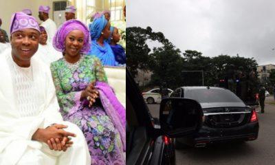 Bukola Saraki's Wife Calls Out The Police