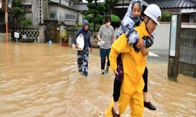 38 Dead, Nearly 50 Reported Missing As Heavy Rain Hits Japan