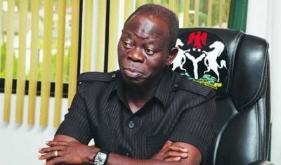 Anti-Buhari Alliance Is Dead On Arrival – Oshiomhole