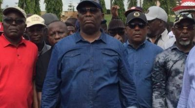 Secondus Leads Protesters To National Assembly Over 'Assault' On Fayose
