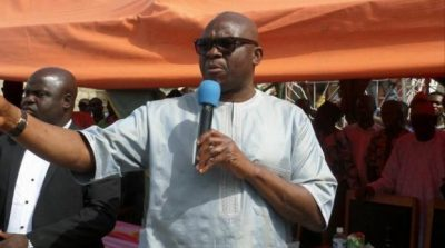 You'll Be Consumed By Your Vendetta – Fayose Replies Fayemi