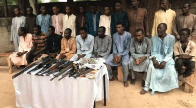 Police Arrest Eight 'Kidnappers' Of Chibok Schoolgirls