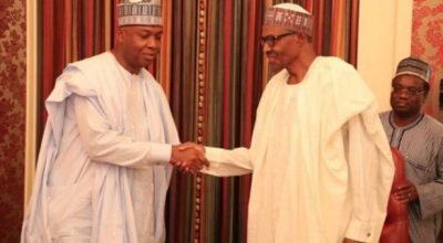 Saraki, Buhari Currently Meeting At Aso Rock