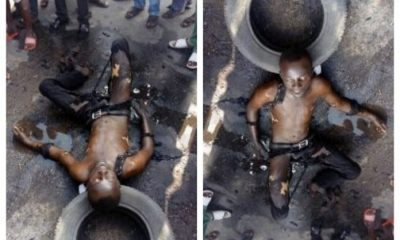 Young Pastor Sets Himself Ablaze In Lagos, Says Hardship In Nigeria Too Much