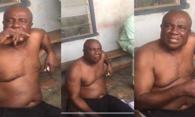 Pastor Disgraced Publicly After He Was Caught Having S3x With His Church Member In Edo State (WATCH)