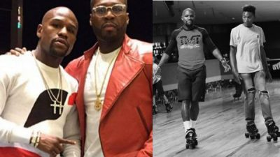 'Worry About Your Family' -Floyd Mayweather's Son Koraun Tells 50 Cent