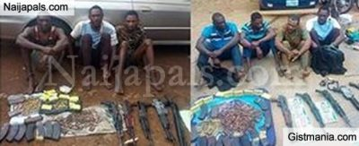 Arrested Bank Robbers Make Shocking Revelation Of How They Hide Their Weapons To Deceive Police