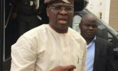 Fayose Makes Public Appearance, Wants Ekiti Monarchs Intervention