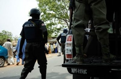 Police Officers Protest In Maiduguri, Disrupt Movement