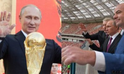 Putin Gives World Cup Fans Visa-Free Russia Entry All Year