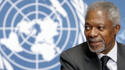 Kofi Annan, Former UN Chief, Dies At 80