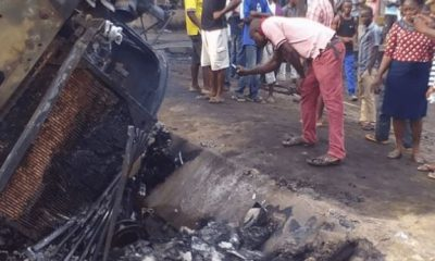 Tanker Driver Arrested After Killing 4 People Drinking At A Bar In Rivers State