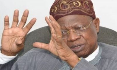 """""""I Am Not Running For Any Office In 2019' – Lai Mohammed"""