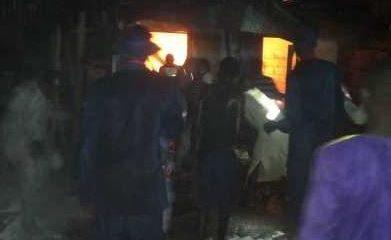 Fire Destroys Baga Fish Market In Maiduguri
