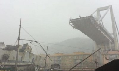 Tragedy In Italy After Genoa Freeway Bridge Collapses, Killing 'Dozens' (Photos/Video)