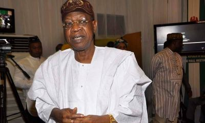 ''FG Has No Hand In The Calls For Saraki's Resignation Or Impeachment'' Lai Mohammed