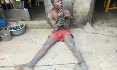 Photos: Man Nabbed In Bayelsa Nine Months After Stealing Friend's Keke And Fleeing To Calabar