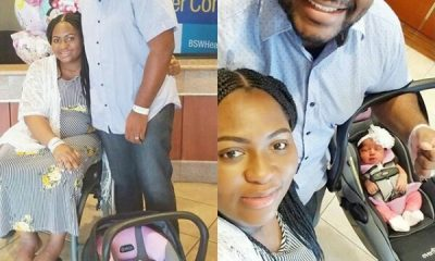 Nigerian blogger, Lizzy Omoraghon Popularly Known As The DIY Lady Welcome Her First Child