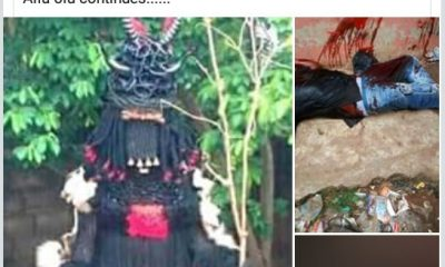 Graphic Photos: Nnewi New Yam Festival Ends In Tragedy As Man Is Brutally Stabbed To Death