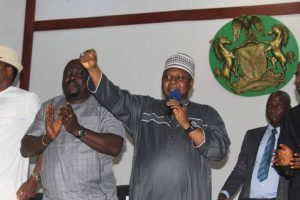 PDP Presidential Aspirant, Tamniu Turaki Arrives Delta State, Meets With Stakeholders